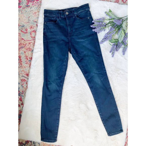 Express Skinny High Rise Denim Perfect Jeans